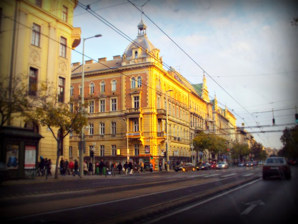 Budapest, Downtown in the Evening