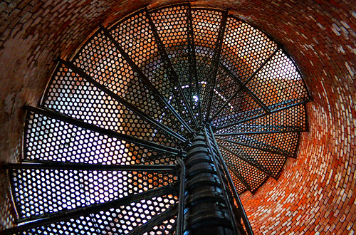 lighthouse ny newyork abstract stairs photoshop canon eos rebel li suffolk steel bricks longisland stairway historical nautical dslr hdr fireisland suffolkcounty fireislandlighthouse photomatix garyburke cs5 klingon65 t1i canoneosrebelt1i