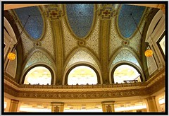 Tiffany Ceiling at Marshall Field's [1907] ~ Chicago Il