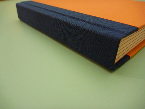 Closed-spine detail.