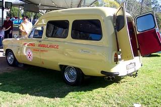 1960 Ford Zephyr Mk II ambulance