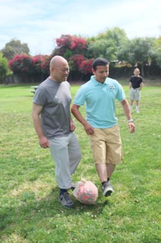 Juan and me Dribbling