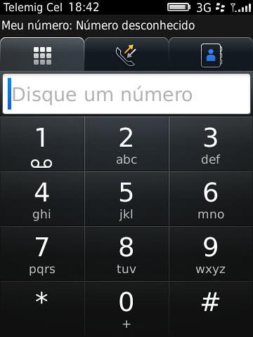 Teclado Telefônico BlackBerry Torch 9800 by Rogsil