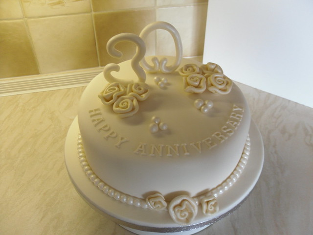 Cake Ideas For Pearl Wedding Anniversary : Flickr - Photo Sharing!