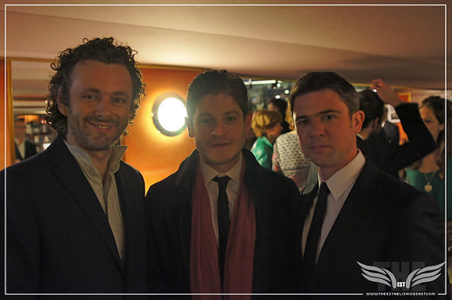The Establishing Shot: Resistance Premiere -  Michael Sheen, Iwan Rheon & Owen Sheers - Curzon Mayfair by Craig Grobler