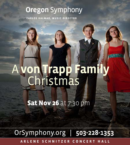 Von Trapp Family Christmas @ Oregon Symphony