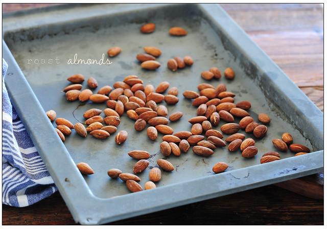 roast almonds