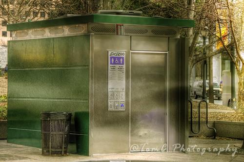 Public Restroom by TomConline
