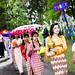 Burmesisk nyttårsprosesjon