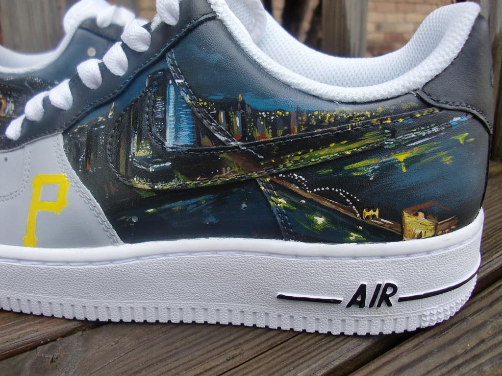 brand new a2641 96547 Pittsburgh Skyline custom AF1