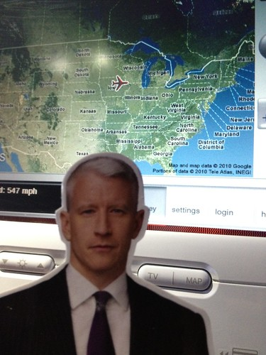 Flat Anderson over Iowa on @virginamerica