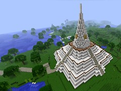 Chedi Phukhao Thong in Minecraft