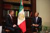 President Calderon Meets with U.S. Ambassador and Colorado Governor