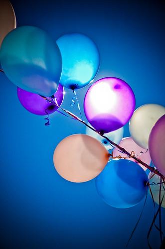 Spring Balloons by elawgrrl