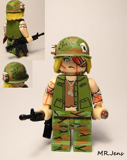 """Welcome To Hell"" Vietnam War LEGO"