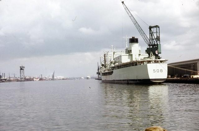 The Royal Navy on the Tyne