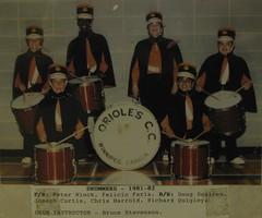 Orioles Drum corps