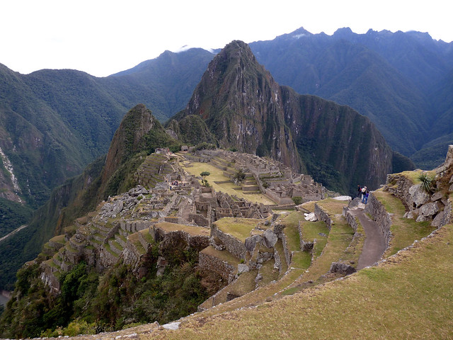 Another picture of Machu Pichu