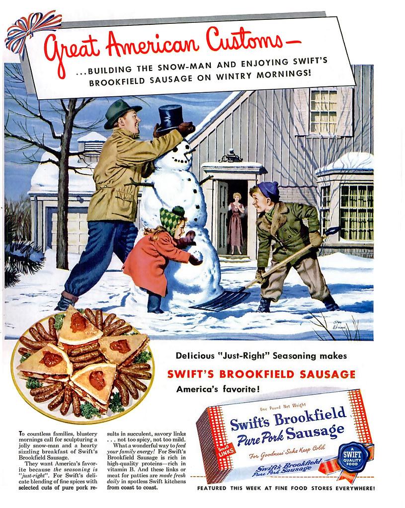 1950 ... pure pork!