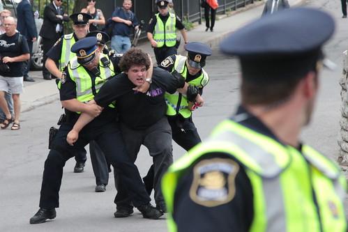 Quebec City Arrest - Royal Tour