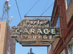 Shreveport, LA Porter-Howard Garage sign