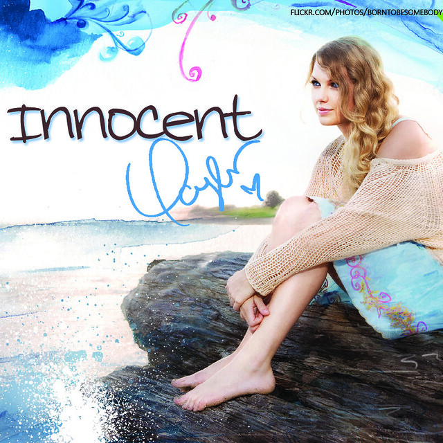 Taylor Swift Innocent CD Cover
