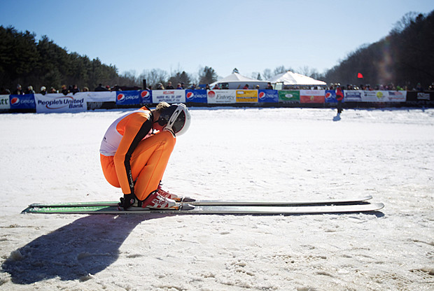 ski jump header