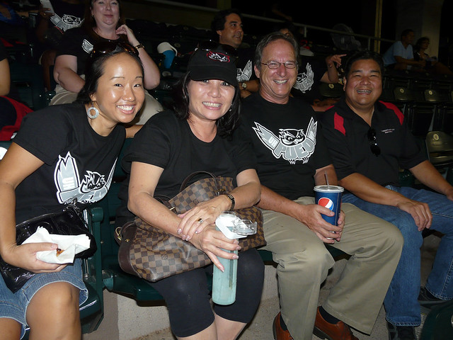 <p>More UH West O'ahu fans at at UH AUW Softall Tournament 2011 at Les Murakami Stadium.</p>
