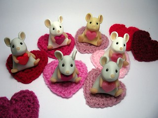 Love Mice with Mouse Rugs