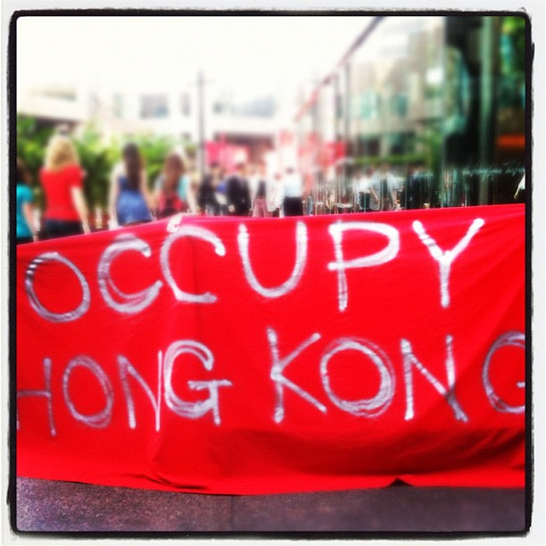 Occupy Hong Kong from Flickr via Wylio