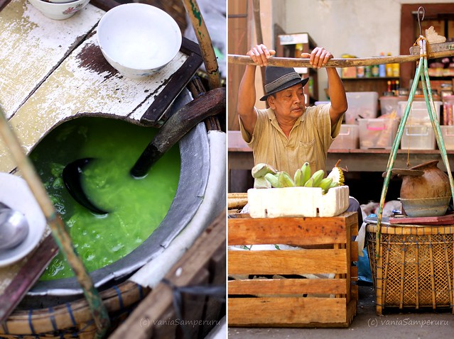 Es Dawet *super* @ Pasar Gg Baru, Pecinan, Semarang