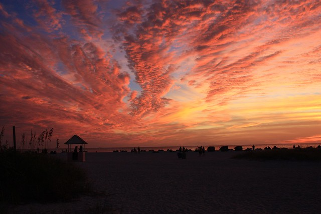 Sunset in St Pete Beach, Florida