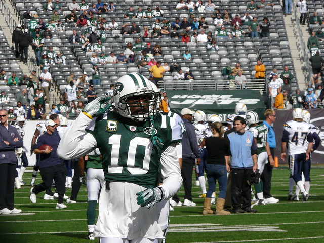 New York Jets Receiver Santonio Holmes