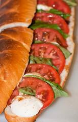 Lee's caprese sandwich