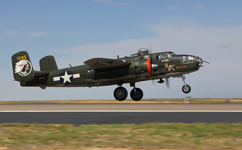 "1945 North American B-25J Mitchell Bomber 44-31385 ""Show Me"" - N345TH, Commemorative Air Force"
