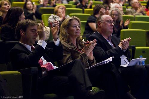 Luciano Cruz Coke (Chile), Kathy Keele (Australia), Alan Davey (England)