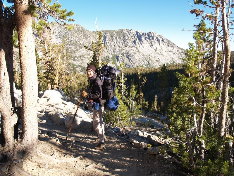 Bishop Pass Trail - heading back to the car