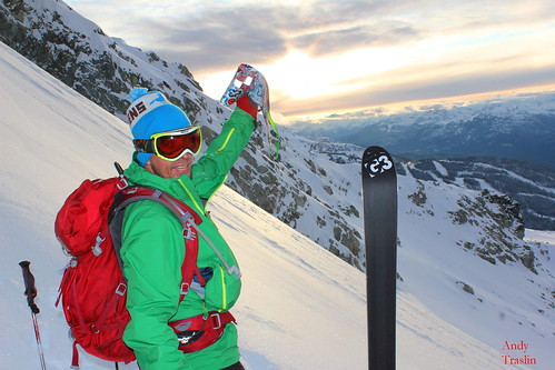 Skier Mike T... G3 skins bringing us to the early season goods..Nov 4 2011