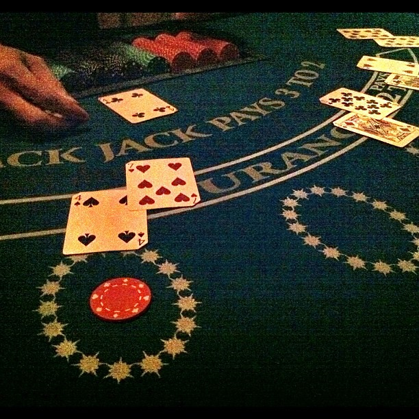 Double blackjack meaning