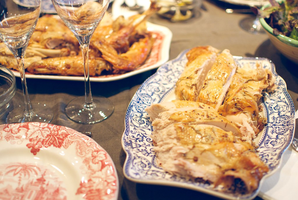Thanksgiving con pavo al horno my little things - Pavo al horno relleno ...