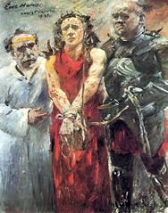 Ecce homo, 1925, by Lovis Corinth