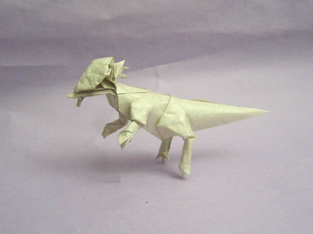 Tetsuya Gotanis Most Interesting Flickr Photos Picssr Dinosaurs Origamiorigami Diagramsorigami Pachycephalosaurus 1