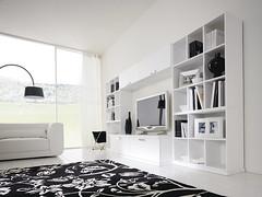 Soggiorno moderno bianco lucido | Soggiorno moderno l.450 cm… | Flickr