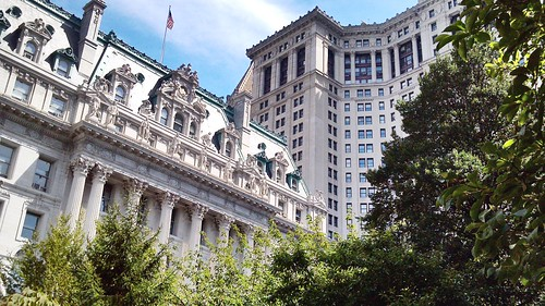 Gotham: law and municipal buildings