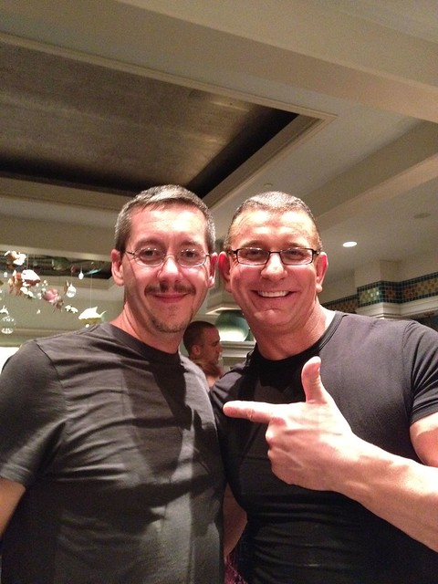 Me and Robert Irvine in Disney
