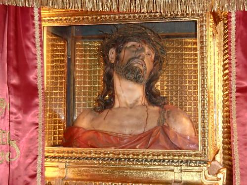 Ecce Homo, busto - Longares (Zaragoza)-España