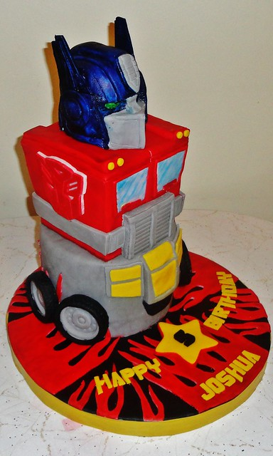 transformers cakes images