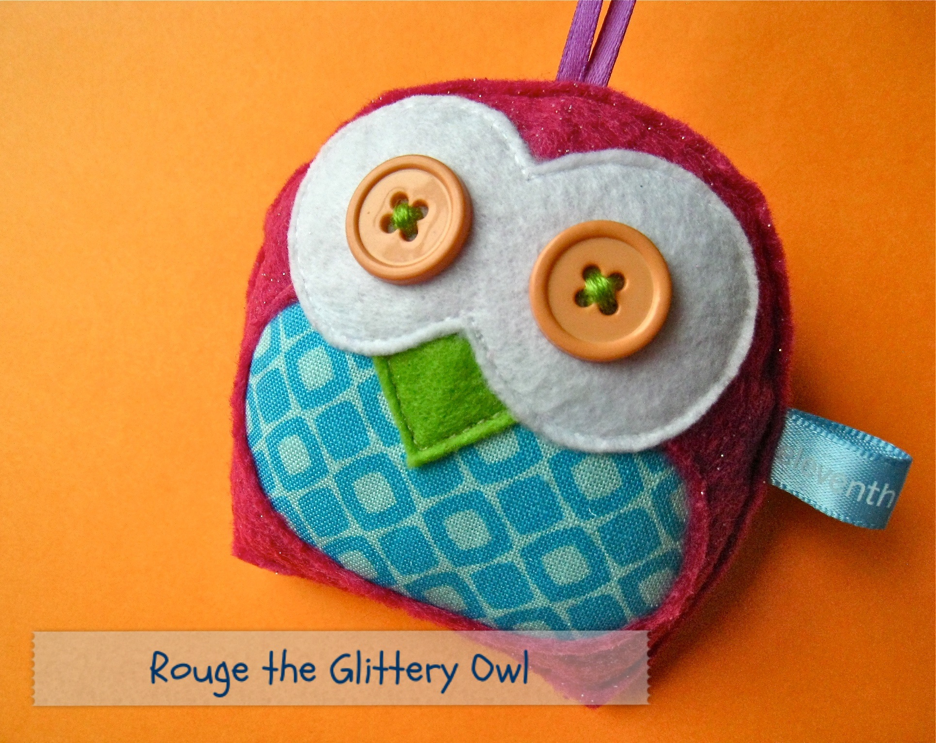 Rouge the Glittery Owl