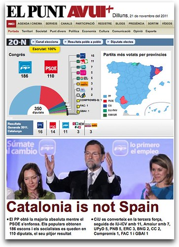 El Punt Avui - Catalonia is not Spain