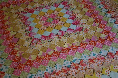 center tiny squares